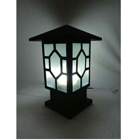 lampu hias pl   door penghias pagar pilar rumah