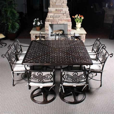 cast classics patio furniture monte cristo cast dining patio furniture by cast classics