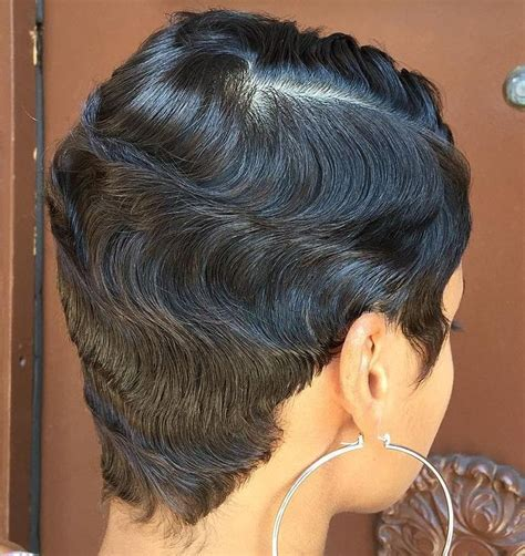 grow african american american hair in a pixie cut 369 best cute styles fingerwaves soft curls images on