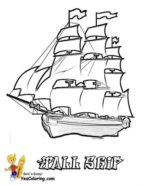 coloring book for relaxation sailing ships books sky high ships coloring pages ship free sailing