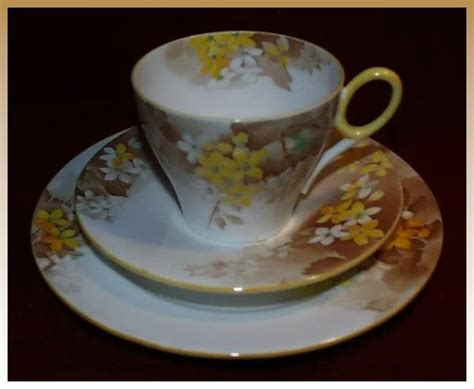 shelley pattern numbers list shelley china trio yellow blossom oxford shape