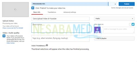 cara upload video di youtube melalui android cara upload video di youtube melalui pc atau laptop pemula
