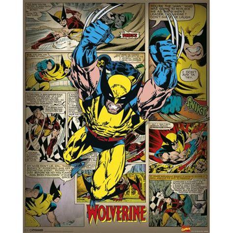 X Utopia Tp Marvel Comics marvel comics wolverine retro 16 x 20 inches mini poster my box