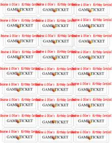 carnival tickets template free printable birthday carnival tickets clip at clker