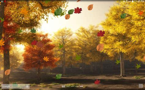 download colorful autumn 3d live wallpaper free for colorful autumn live wallpaper free android live wallpaper