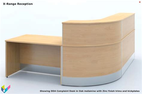 dda compliant reception desk dda compliant reception desk elite eck3 dda reception