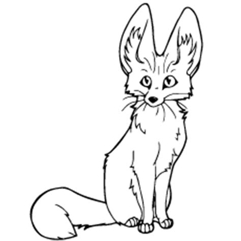 coloring pages fennec fox emejing fox coloring book pictures printable coloring