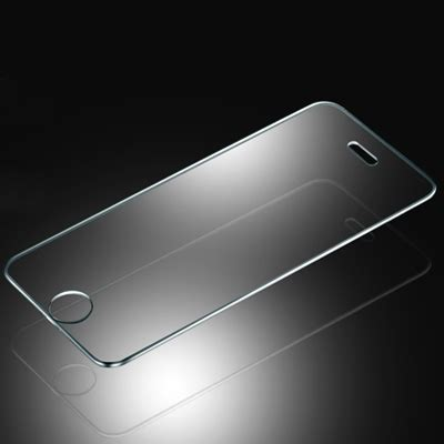 Tempered Glass Clear Fashion Iphone 5 3 0mm tempered glass protection screen sticker for iphone 5 5s transparent alex nld