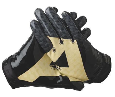 Five Sf 1 Gloves Whitegold nike college rivalry vapor jet football gloves army vs navy freshness mag
