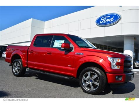 2015 ruby metallic ford f150 lariat supercrew 4x4 103460557 gtcarlot car color