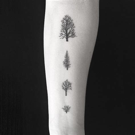 tree tattoo small 77 attractive tree wrist tattoos design