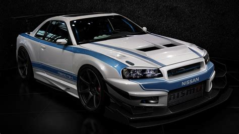 Cars Design Tuning Tuned Nissan Skyline R34 Gt R Wallpaper