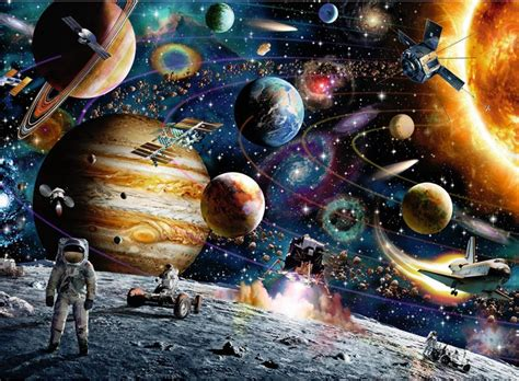 Wall Murals For Children outer space children s puzzles puzzlewarehouse com