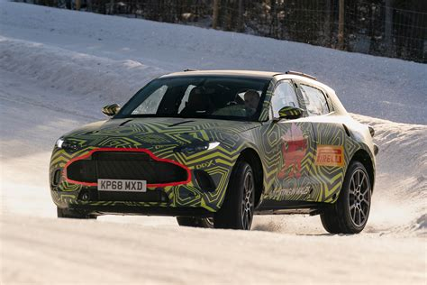 2020 Aston Martin Dbx by New 2020 Aston Martin Dbx Suv Testing Begins Pictures