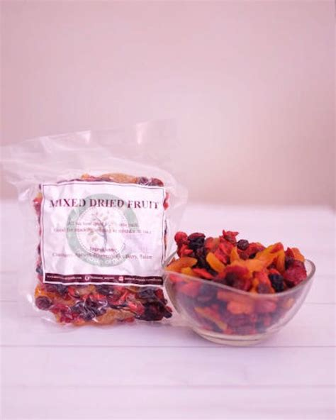 Dried Cranberries 250gr mixed dried fruit 250gr