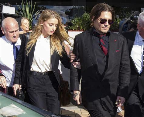 amber heard news pictures and videos e news divorce johnny depp amber heard le couple aurait sign 233 un