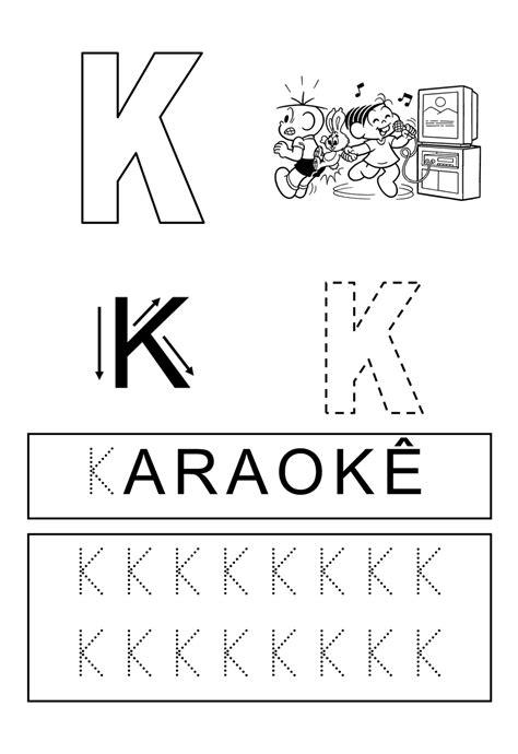 Alfabeto Divertido: Letra K