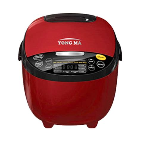 Rice Cooker Yongma 2 Liter jual yong ma ymc211 digital rice cooker merah 2l