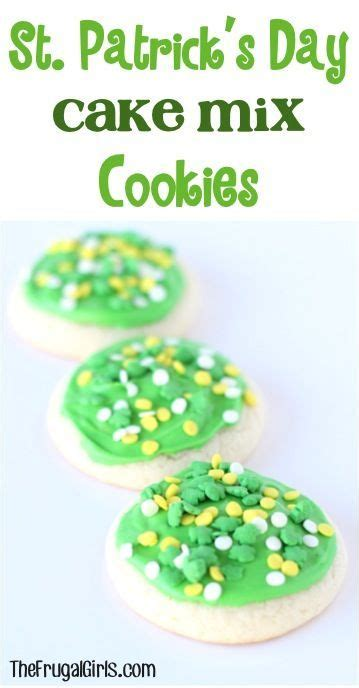 day cookie recipes st s day st and cake mix cookie recipes