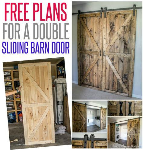 Pallet Wood Barn Door Plans