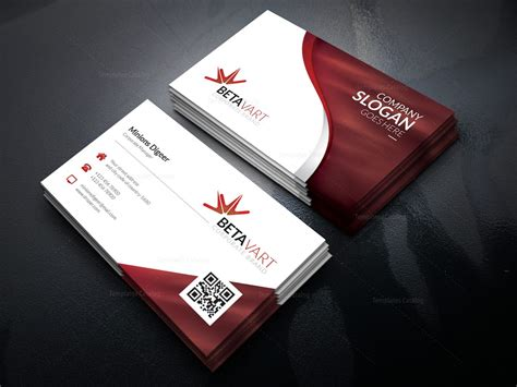 Ceo Business Card Template by Halley Corporate Business Card Template 001249
