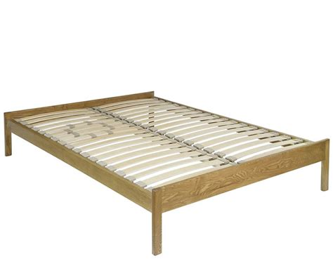 Elgar 4ft Natural Ash Bespoke Wooden Bed Base Special Bespoke Bed Frames