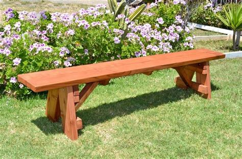 outdoor picnic bench redwood picnic bench redwood outdoor furniture
