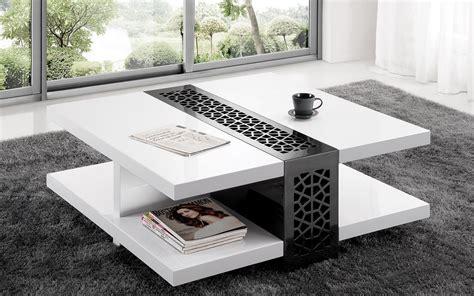 table de salon collection de tables basses modernes tr 233 s chics la perle