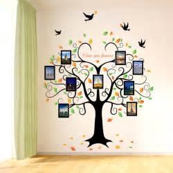 Family Tree Wall Mural aliexpress com buy large love heart shape tree wall