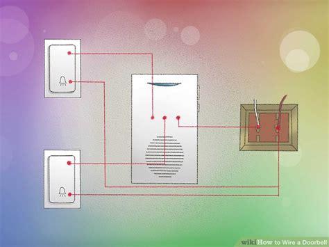 doorbell wiring colors wiring diagram with description
