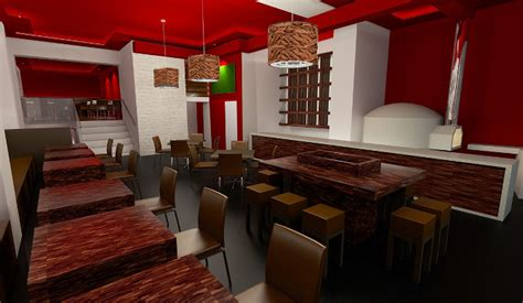 Interior Wall Design Ideas restaurant design unique form