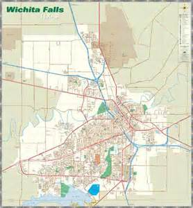 wichita falls map welcome to wichita falls