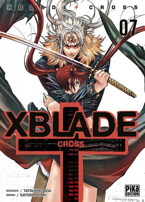 X Blade Cross 8eps By Shiki Satoshi Tamat vol 7 x blade cross news
