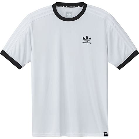 adidas clima club jersey t shirt l black