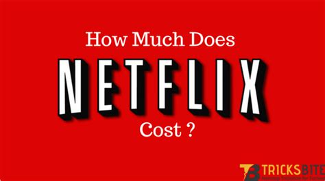 how much does a cost per month 10 answers how much does netflix cost a month quora