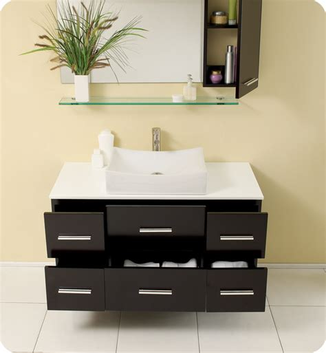modern bathroom vanities and cabinets fresca distante espresso modern bathroom vanity