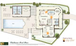 home design floor plans and layout with swimming pool