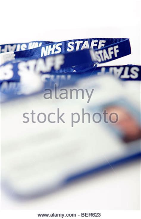 nhs id card template id badge stock photos id badge stock images alamy