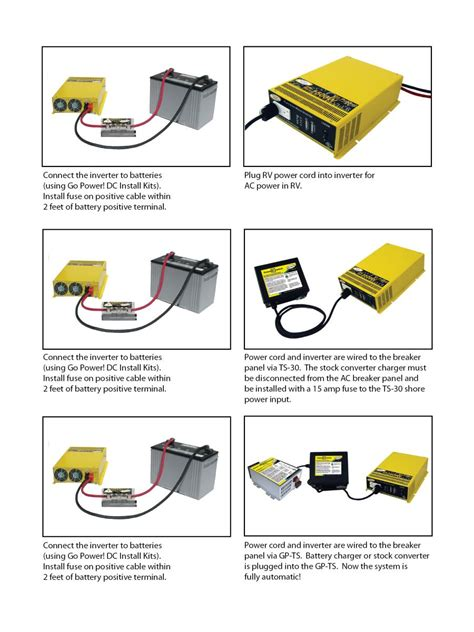 power inverter wiring diagram inverter wiring diagram for
