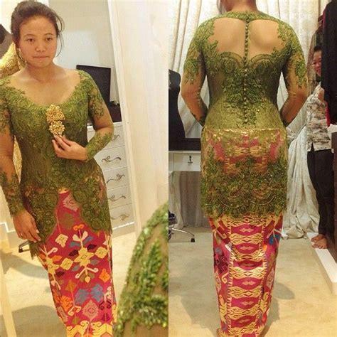 Diskon Batik Syari Nagita Brown vera kebaya indonesia kebaya batik