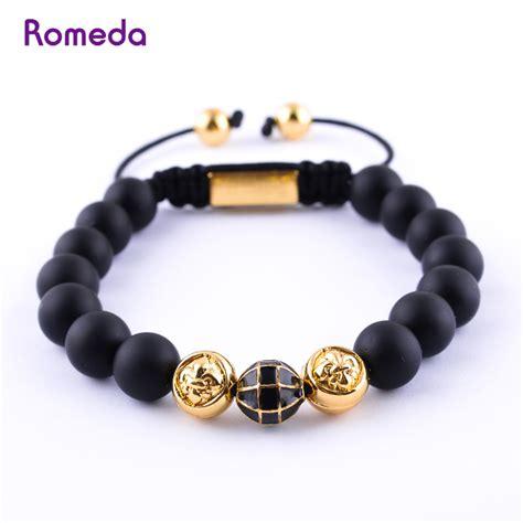 Handmade Bracelets For - romeda nature black pulseira rope handmade shamballa