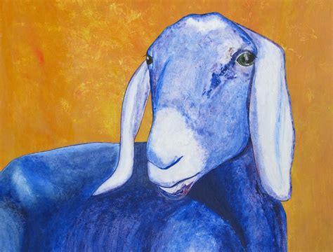 Blue Goat the blue goat