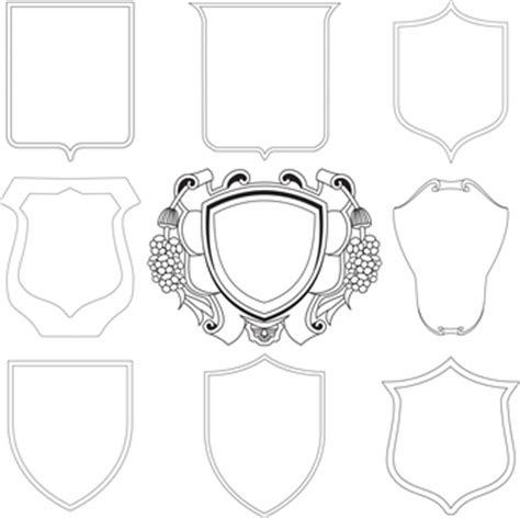 Muster Vorlagen Photoshop Wappen Vorlagen 3 Wappen Infos Vorlagen Und Tipps Zum Erstellen