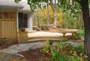 backyard patios and decks backyard deck and patio ideas home decoria