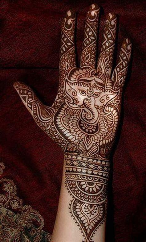 ganesh henna tattoo ganpati mehndi designs ganesh mehndi design ideas