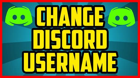 discord how to change game name how to change your username in discord 2017 quick easy