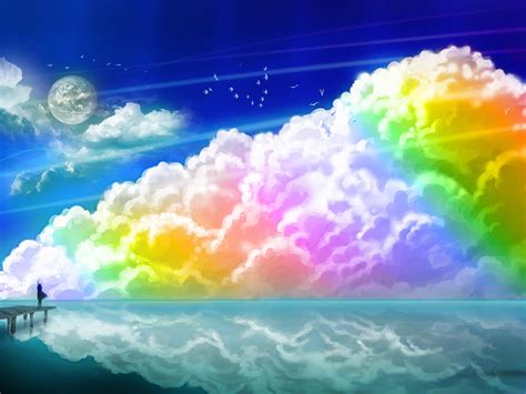 rainbow cloud image gallery rainbow clouds