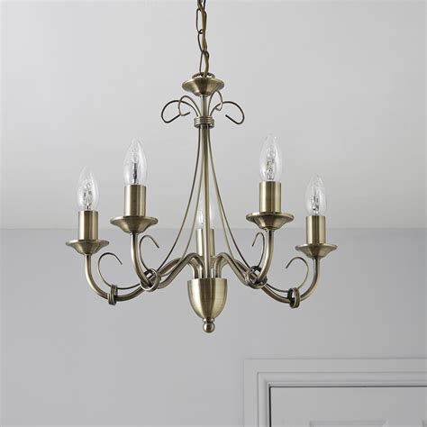 priory gold 5 l pendant ceiling light departments
