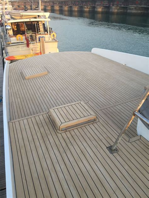 synthetic teak decking for boats 197 best synthetic teak pvc soft boat decking images on