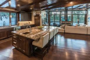 Craftsman Style Flooring by 35 Craftsman Kitchens With Beautiful Cabinets Designing Idea